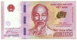 Vietnam - 100 Dong 2016, - Vietnam