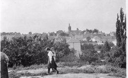 PHOTO FRANÇAISE - VUE SUR LE VILLAGE DE VERZY PRES DE VILLERS MARMERY - MARNE - REIMS 1914 1918 - 1914-18