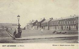CPA Fayt-lez-Manage Place (dos Non Divisé) Cachet Manage 15 Mars 1907 Vers Jolimont Edition J. Debelle-Lecomte - Thuin