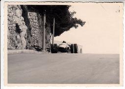 AUTO CAR VOITURE NON IDENTIFICATA -  FOTO ORIGINALE ANNI 60/70 - Cars