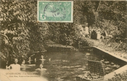 GUADELOUPE LES BAINS  JAUNES EDITION PHOS - Guadeloupe
