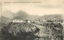 MARTINIQUE FORT DE FRANCE LE CAMP BALATA - Fort De France