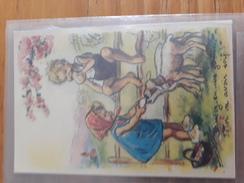 Carte Postale Laissez-en Une Goutte, Totor Va Avoir Soif ! Germaine Bouret - Niños