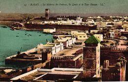 MAROC - RABAT - LA MEDERSA DES OUDAIAIS LES QUAIS ET LA TOUR HASSAN - Rabat