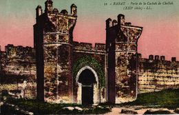 MAROC - RABAT - PORTE DE LA CASBAH DE CHELLAH - Rabat
