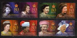 Alderney 2006 The 80th Anniversary Of The Birth Of Queen Elizabeth II.MNH - Alderney