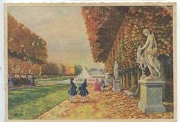 Chateau De Versailles 78 : Tapis Vert Et Grand Canal - Homualk Illustrateur N°14 Artaud - Homualk