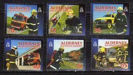 Alderney 2004 Social Services - Fire Fighters. MNH - Alderney