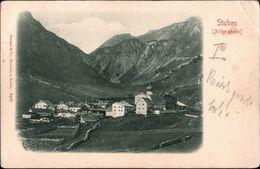 ! Alte Ansichtskarte Aus Stuben, Vorarlberg, Österreich - Stuben