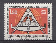 Autriche 1978  Mi.Nr: 1579 Kongress Des....  Oblitèré / Used / Gebruikt - 1945-.... 2ème République