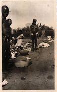 PETITE PHOTO D'AFRIQUE - MALI BAMAKI FEMMES LAVANT LE LINGE DANS LE FLEUVE NIGER 1941 - FEMMES SEINS NUS - Afrique