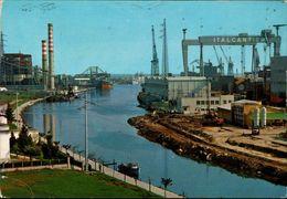 ! Ansichtskarte Aus Monfalcone, Italien, Cantiere, Chantiers, Shipyards, Werft - Other Cities