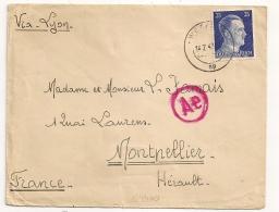 WETZLAR Deutscland, Ae  Pour Montpellier France. 1943 - Allemagne