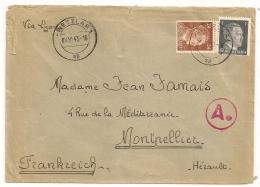 WETZLAR Deutscland, 24 + 1,  Ae  Pour Montpellier France. 1943 - Allemagne