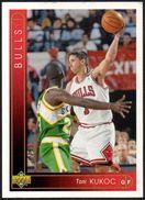 BASKETBALL - UPPER DECK CARD 1994 - TONI KUKOC - CHICAGO BULLS - Sports