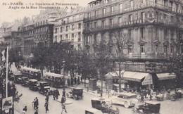 75----PARIS--le Boulevard Poissonnière Angle De La Rue Montmarte--voir 2 Scans - Non Classés