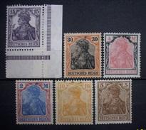 Dt.Reich Lot 1905 - 1920 * Ungebraucht     (R340) - Ungebraucht