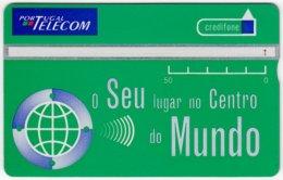 PORTUGAL A-814 Hologram Telecom - 505A - Used - Portugal
