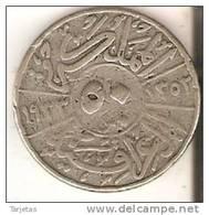 MONEDA  DE PLATA DE IRAQ DE 50 FILS DEL AÑO 1933 (COIN) SILVER-ARGENT - Iraq