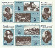 1983 - Palau 24/31 Viaggio Capitano Wilson, - Palau
