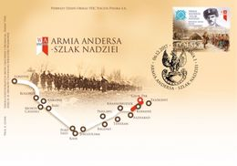 POLAND 2017 - Wladyslaw Anders General Of The Polish Army FDC - 1944-.... Republiek