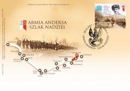 POLAND 2017 - Wladyslaw Anders General Of The Polish Army FDC - 1944-.... República