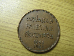 PALESTINE TEMPLATE LISTING ONLY 1 COIN 2 MILS 1941 (FROM THE 4 COINS) LOT 2017/1 NUM 9 - Otros – Asia