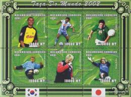 Mosambik 1847-1852 Sheetlet Unmounted Mint / Never Hinged 2001 Football-WM 2002 - Mozambique