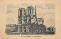 D1019 Notre Dame Paris 1899 - Notre Dame De Paris