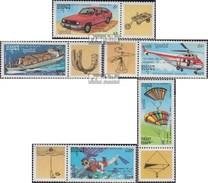 Kambodscha 1288-1292 Con Allunga (completa Edizione) MNH 1992 Leonardo Da Vinci - Cambodia