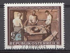 Autriche 1978  Mi.Nr: 1587 Europäischer Familienkongress  Oblitèré / Used / Gebruikt - 1971-80 Afgestempeld