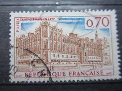 """VEND BEAU TIMBRE DE FRANCE N° 1501 , SAINT-GERMAIN EN """" LAYF """" !!! (b) - Variétés: 1960-69 Oblitérés"""