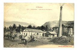CPA 09 Ariège Tarascon-sur-Ariège Les Hauts Fourneaux Animé - Francia