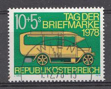 Autriche 1978  Mi.Nr: 1592 Tag Der Briefmarke  Oblitèré / Used / Gebruikt - 1945-.... 2ème République