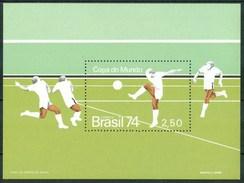 """1974 Brasile """"Munich 74"""" Coppa Del Mondo World Cup Coupe Du Monde Calcio Football  MNH** Zz33 - Coppa Del Mondo"""