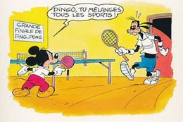 Photocopie  Tennis De Table Humour - Table Tennis
