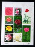 Thailand Stamp SS 2010 Rose 8th - Thaïlande