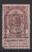 Antwerpen 1904 Nr. 606B Hoekje Linksonder - Precancels