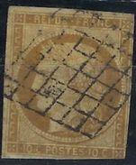 France N° 1 Oblitéré Qualité ST - 1849-1850 Cérès
