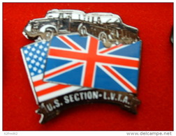 PIN'S TAXI LONDONIENS - U.S SECTION L.V.T.A - Pins