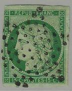France N° 2 Oblitéré Beau Mais Une Marge Touchée - 1849-1850 Cérès