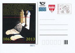 Tschech. Rep. / Ganzsachen (Pre2013/04) 950. Jahrestag Der Wiederherstellung Des Olmützer Bistums (1063) - Klöster