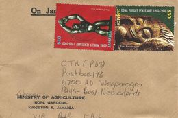 Jamaica 2007 Liguana Edna Manley Sculpture Art $10 $30 Official Cover - Jamaica (1962-...)