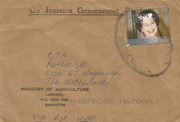 Jamaica 2002 Kingston Golden Jubilee Queen Elisabeth II $40 Official Cover - Jamaica (1962-...)