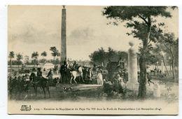 CPA  Célébrités :   NAPOLEON 1er   Fontainebleau    A  VOIR  !!!!!!! - Politicians & Soldiers