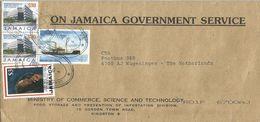 Jamaica 2007 Liguane UPU Mail Ship $7 Bank Building $30 Reggea Music Bob Marley $3 Cover - Jamaica (1962-...)
