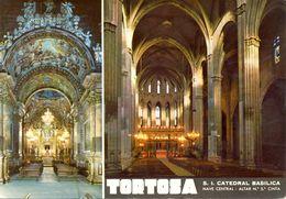 Espagne - Catalunya - Tortosa - Cathédrale - Multivues - V.C. Excl. Distribuidora Viladrich Nº 109 - Ecrite - 3193 - Espagne
