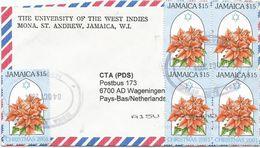 Jamaica 2004 Mona Christmas Flower $15 Cover - Jamaica (1962-...)