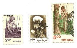 1980 - India 629/31 Ordinaria C4625, - India