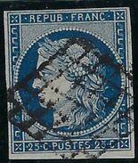 France N° 4 Oblitéré - 1849-1850 Ceres